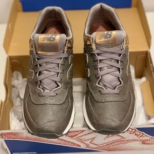 New Balance 574 - Rose Gold/Metallic/Gray